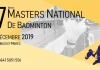 27ème Master National de Badminton